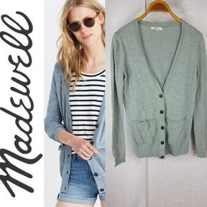 🔴MADEWELL Collegiate Button up Cardigan